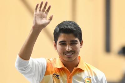 Saurabh shoots silver at 14th Asian Championships (Lead)