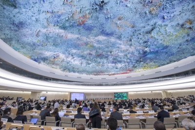 Don't need job to help world: Indian student at UNHRC