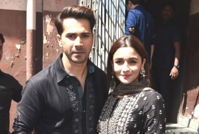 Alia's first visit to Gaiety for 'First class'