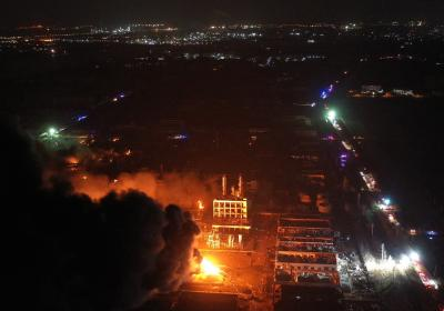 China chemical blast toll increases to 47