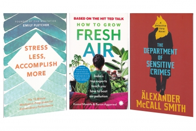 Of mindful meditation, crime fiction and beating air pollution (IANS Books This Weekend)