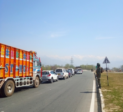 Jammu-Srinagar highway restored for traffic