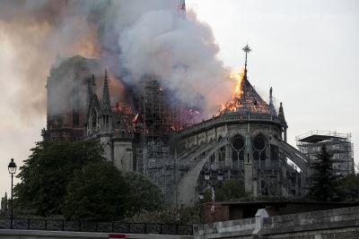 Notre Dame to hold 1st mass since devastating fire