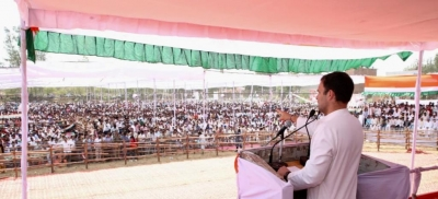 SP, BSP caused immense damage to UP: Rahul (Lead)