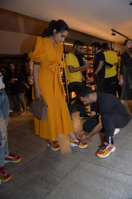 Love is tying shoelaces: Sonam, Anand show how