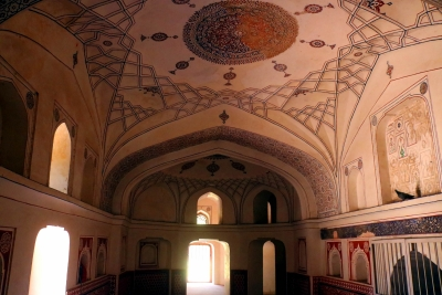 A bird's-eye view of Humayun's Tomb complex conservation