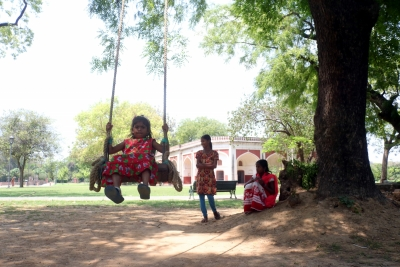 In this UP district, dumping ground transforms into park
