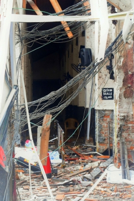 Wife, sister of Colombo bomber also killed