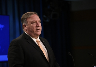 Pompeo on three-day visit to India from June 25