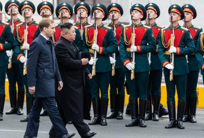 Putin, Kim meet for 1st time in Vladivostok