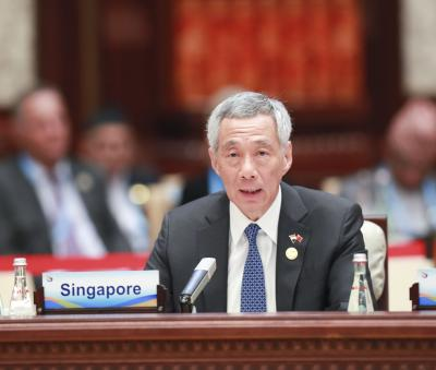 Singaporean PM calls for resilience in face of economic downturn