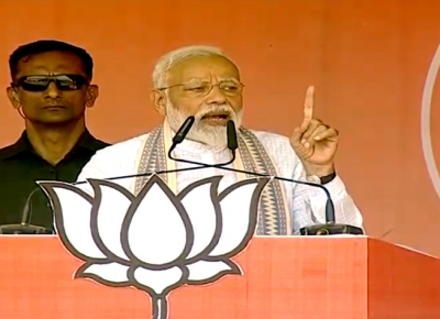 Modi says patrons of terror praying for his exit