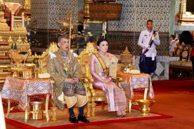 Thai King fires four royal guards in ongoing palace purge