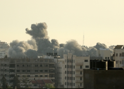 Israel launches airstrikes on Gaza in response to rockets' firing