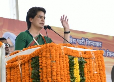 Priyanka Gandhi leads and opposition follows in UP