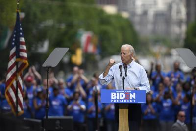 Biden berates Trump as protests over Floyd's death continue