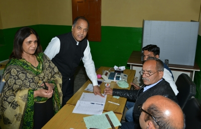 High poll percentage means BJPs victory: Himachal CM