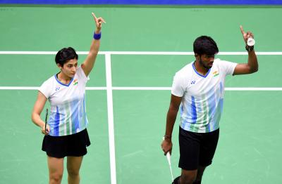 Thailand Open: Satwiksairaj-Ashwini enter mixed doubles' quarters (Lead)