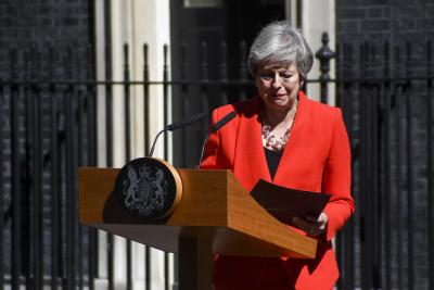 May quits, new British PM likely by end of July (Night Lead)