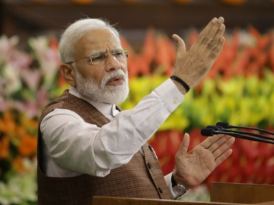 Modi says people want Gujarat-like development in Bengal