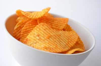 Don't eat too much potato chips during pregnancy