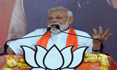Next five years crucial to regain India's global position: Modi (Lead)
