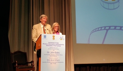 Academy President John Bailey to attend this year's IFFI (Lead)