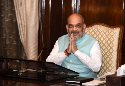 Shah takes charge as 30th Home Minister (Lead)