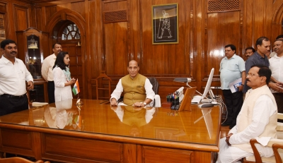 'Defence strategy, revamp, more funds Rajnath's priorities'