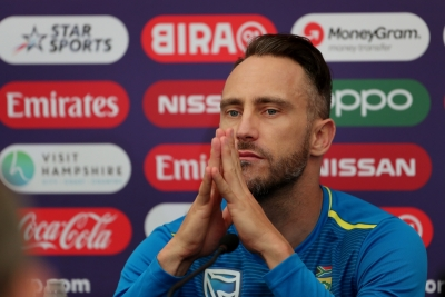 Faf du Plessis set to miss flight to India