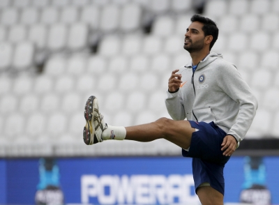 Bhuvneshwar out of Pakistan match with hamstring injury