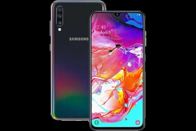 Samsung Galaxy A70s with 64MP rear camera in India this month