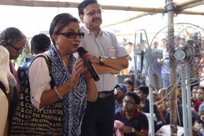 Celebrities join docs in Kolkata rally demanding dialogue