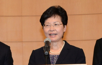 HK leader commits to creating platform for dialogue