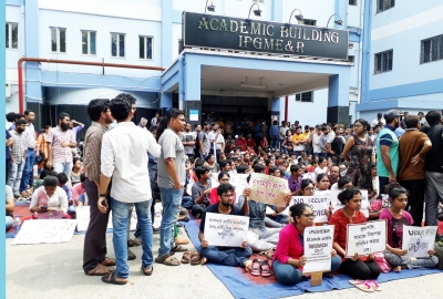 Patients suffer as bengal doctors strike enters 6th day