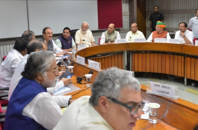 Opposition raises farmers' issues at all-party meeting