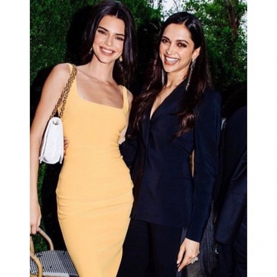Deepika shares frame with Kendall Jenner in NY