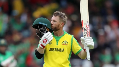 Warner ton propels Oz to mammoth 381/5 against Bangladesh