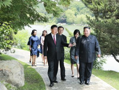 Kim Jong-un writes to Xi, pledges support to China