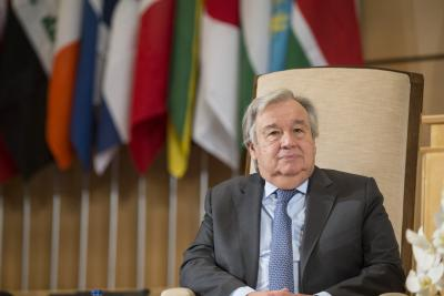 UN chief urges ceasefire in Libya to start political process