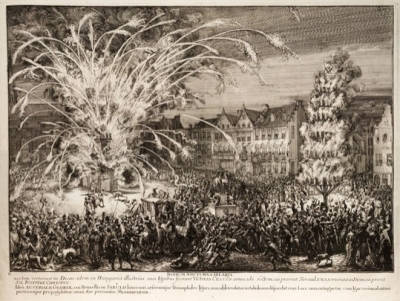 US exhibition explores European fireworks' history