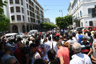 Rally in Tunisia's capital to demand release of protesters