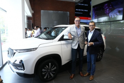 MG Motor India temporarily halts bookings for Hector SUV
