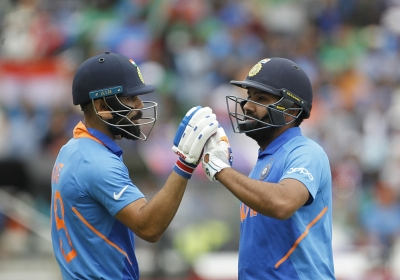 Rohit-Rahul show sees India post 314/9 against Bangladesh (IANS at World Cup)