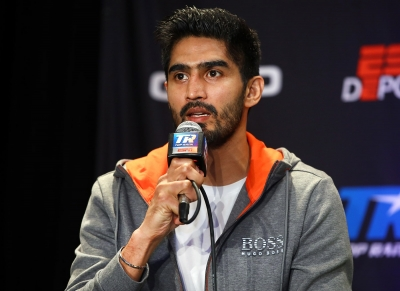 Have worked hard on technique, fitness: Vijender
