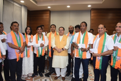 Congress files disqualification petition against 10 BJP MLAs