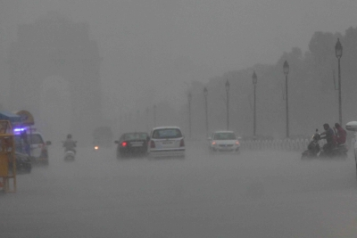 Delhi records 28.8 mm of rainfall