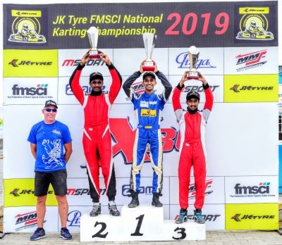 National Karting C'ship: Nirmal, Ruhaan maintain top spots