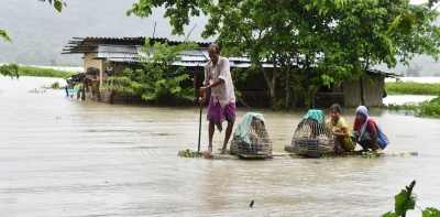 Assam flood situation grim; death toll at 71, 40 lakh affected