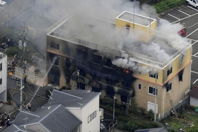 33 killed in arson attack at Japan anime studio (3rd Lead)